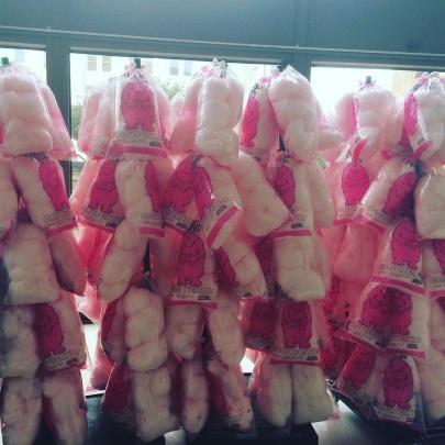 Pink the Rink norfolkadmirals breastcancerawareness flamingojoes pink echl cottoncandy norfolkscopehellip